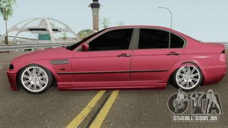 BMW E46 Romania para GTA San Andreas