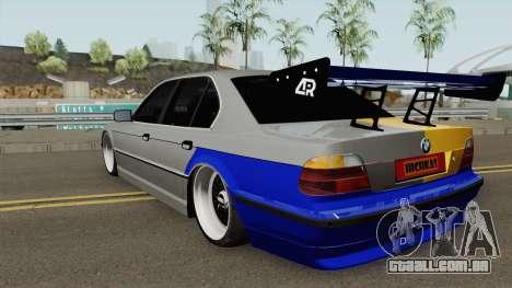 BMW Full Tuning para GTA San Andreas