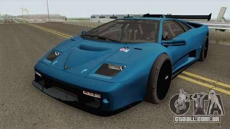 Lamborghini Diablo GT-R HQ 1999 para GTA San Andreas