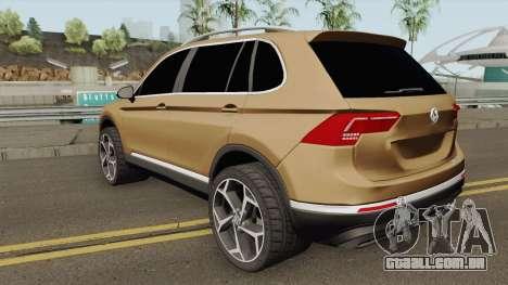 Volkswagen Tiguan 2017 para GTA San Andreas