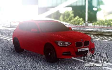 BMW M135i para GTA San Andreas