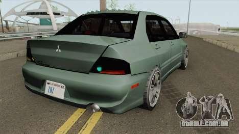 Mitsubishi Lancer Evolution IX (SA Style) para GTA San Andreas