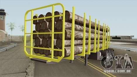 Trailer B-Doble Timber para GTA San Andreas