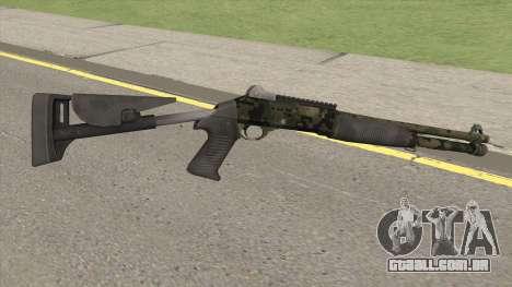 Benelli M4 SEALs Jungle Camo para GTA San Andreas