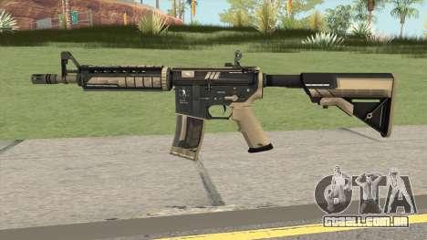 CS-GO M4A4 Desert Strike para GTA San Andreas