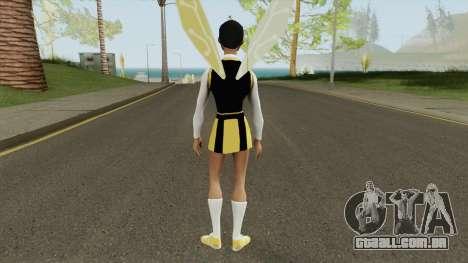 Bumblebee From Young Justice V3 para GTA San Andreas