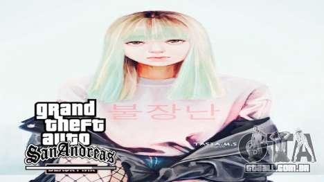 Black Pink Loading Screen para GTA San Andreas