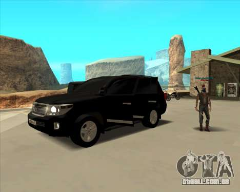 Toyota Land Cruiser 200 2013 para GTA San Andreas