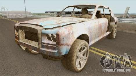 Rusty Enus Super Diamond GTA V para GTA San Andreas