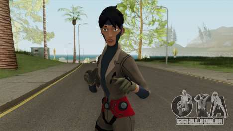 Rocket From Young Justice para GTA San Andreas