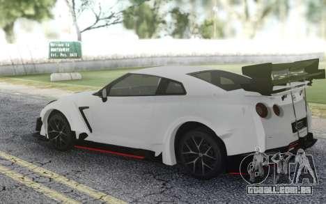 2018 Nissan GT-R NISMO para GTA San Andreas