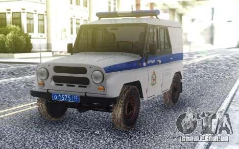 UAZ 3151 Polícia para GTA San Andreas