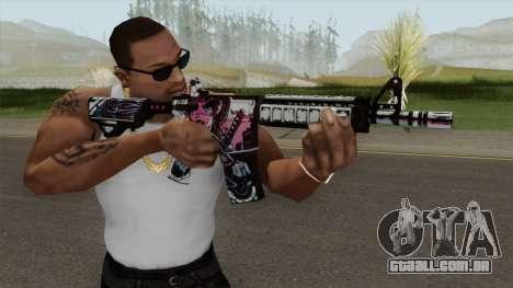 CS-GO M4A4 Neo-noir para GTA San Andreas
