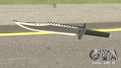 Knife Rambo para GTA San Andreas