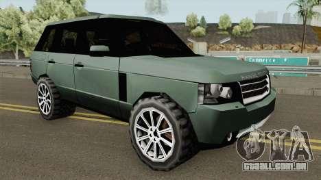 Land Rover Range Rover 2009 (SA Style) para GTA San Andreas