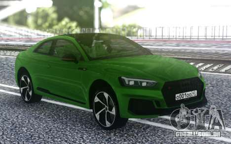 Audi RS5 2018 para GTA San Andreas