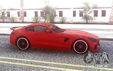 Mercedes-Benz AMG GT-R para GTA San Andreas