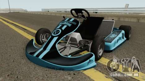 Shifter Kart 125CC para GTA San Andreas