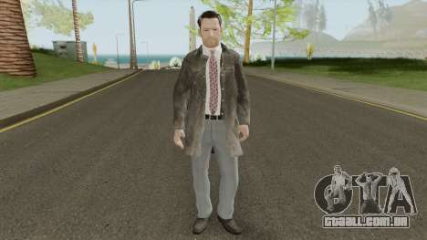 Max Payne (Leather Coat) From Max Payne 3 para GTA San Andreas