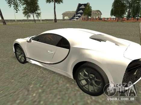 Bugatti Chiron Winter Edition para GTA San Andreas