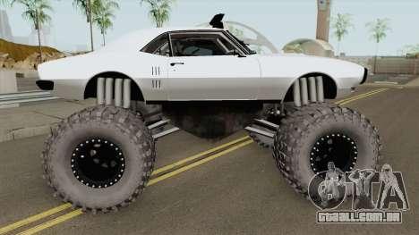 Pontiac Firebird Monster Truck 1968 para GTA San Andreas