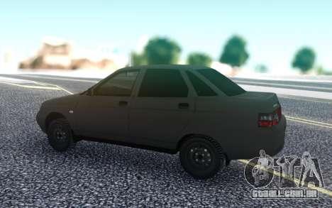 VAZ 2110 Bogdan para GTA San Andreas