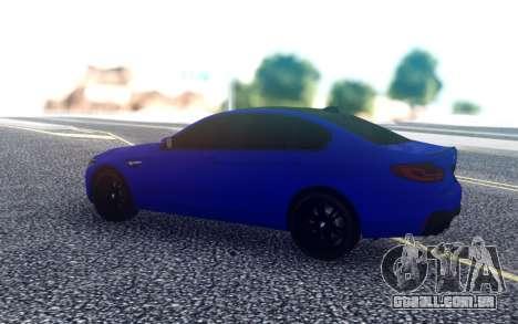 BMW М5 F90 para GTA San Andreas