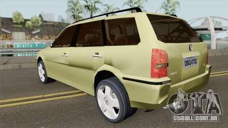 Volkswagen Parati G3 Tunable para GTA San Andreas