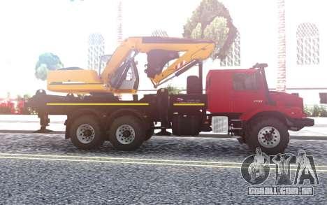 A Mercedes-Benz Zetros Escavadeira para GTA San Andreas