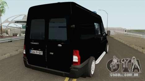 Ford Transit Policija BiH para GTA San Andreas