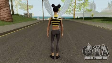 Bumblebee From Young Justice V2 para GTA San Andreas