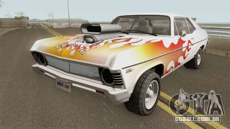 Declasse Vamos GTA V (Custom Bonnet) para GTA San Andreas