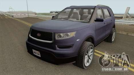 Vapid Scout V2 GTA V IVF para GTA San Andreas