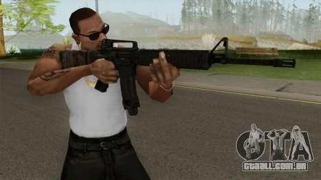 Battlefield 3 M16 para GTA San Andreas