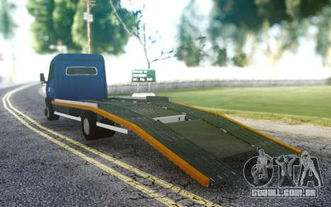 Mercedes-Benz Vario 815D para GTA San Andreas