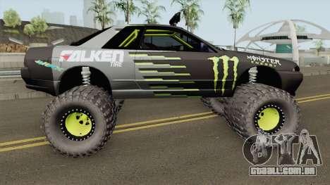 Nissan Skyline R32 Off Road Monster Energy para GTA San Andreas