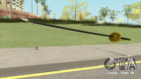 Shanks Akagami Weapon para GTA San Andreas