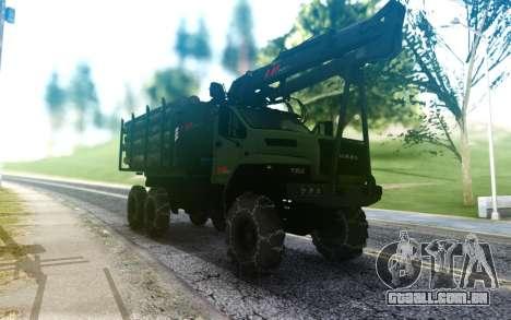 Ural Próximo Ao Caminhão para GTA San Andreas
