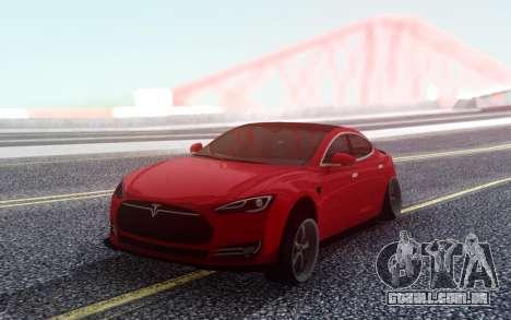 Tesla Model S Stance para GTA San Andreas