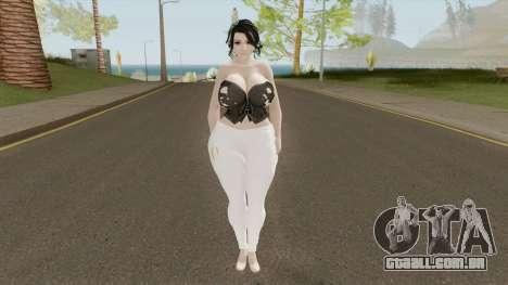 Momiji Casual - Thicc Version para GTA San Andreas