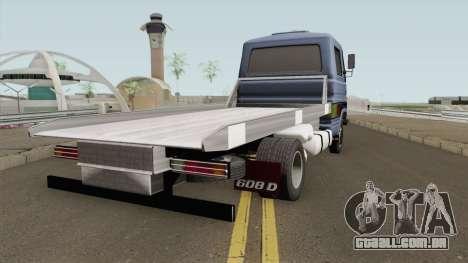 Mercedes-Benz 608D Grua para GTA San Andreas