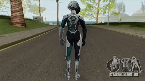 Marvel Future Fight - Luna Snow (Andromeda) para GTA San Andreas