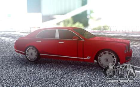 Bentley Mulsane para GTA San Andreas