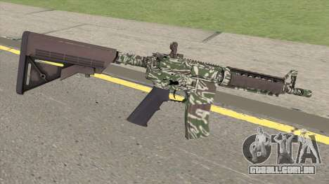 CS-GO M4A4 Jungle Tiger para GTA San Andreas
