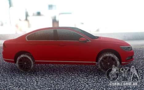 Volkswagen Passat B8 para GTA San Andreas