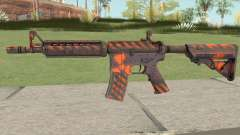 CS-GO M4A4 Radiation Hazard para GTA San Andreas