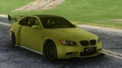 BMW M3 GTS Green para GTA San Andreas