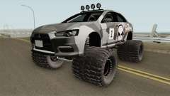 Mitsubishi Evolution X Off Road No Fear