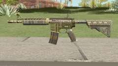 CS-GO M4A4 The Battlestar para GTA San Andreas