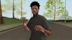 Skin Random 145 With Black Shirt para GTA San Andreas